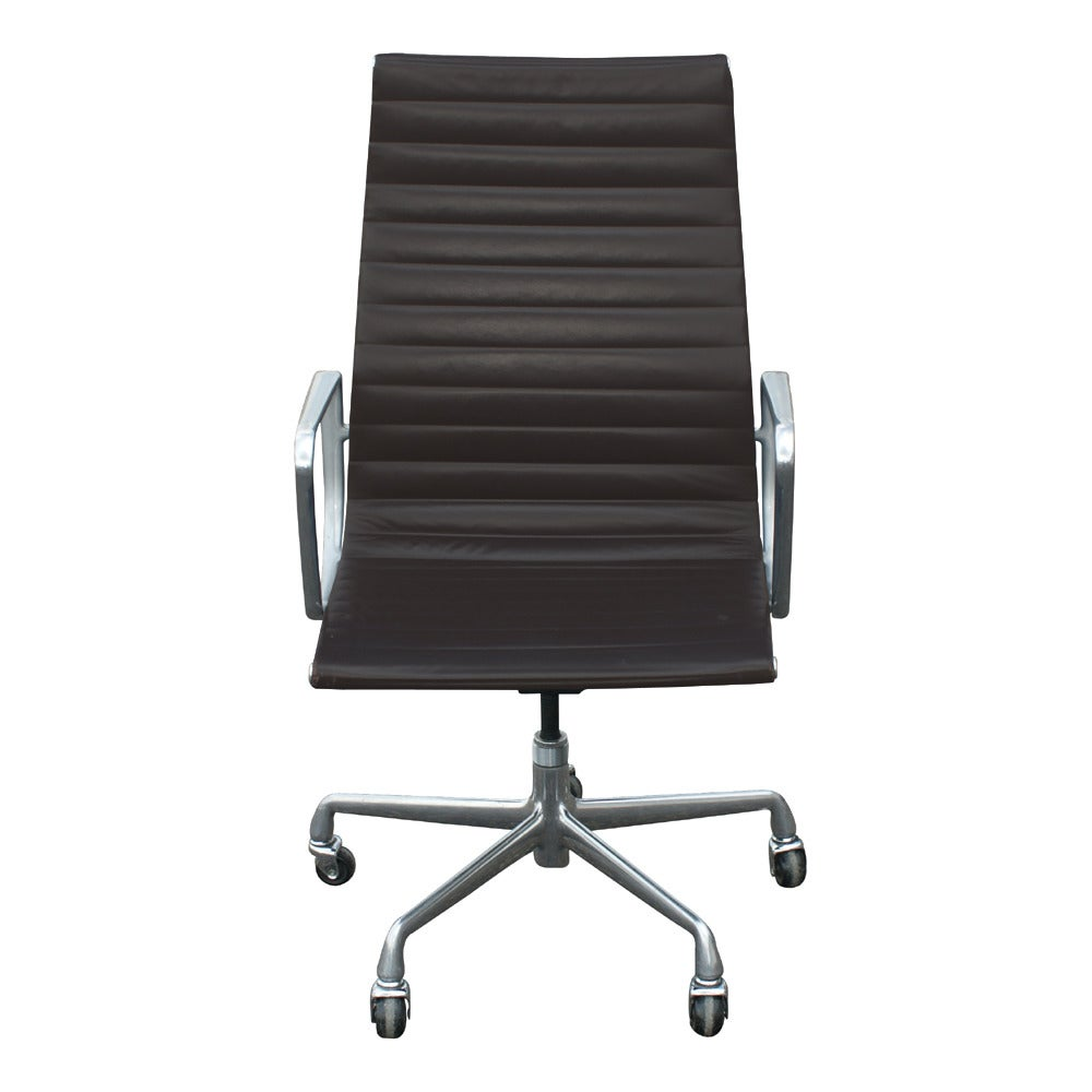 20th Century One Eames For Herman Miller Executive Chair For Sale