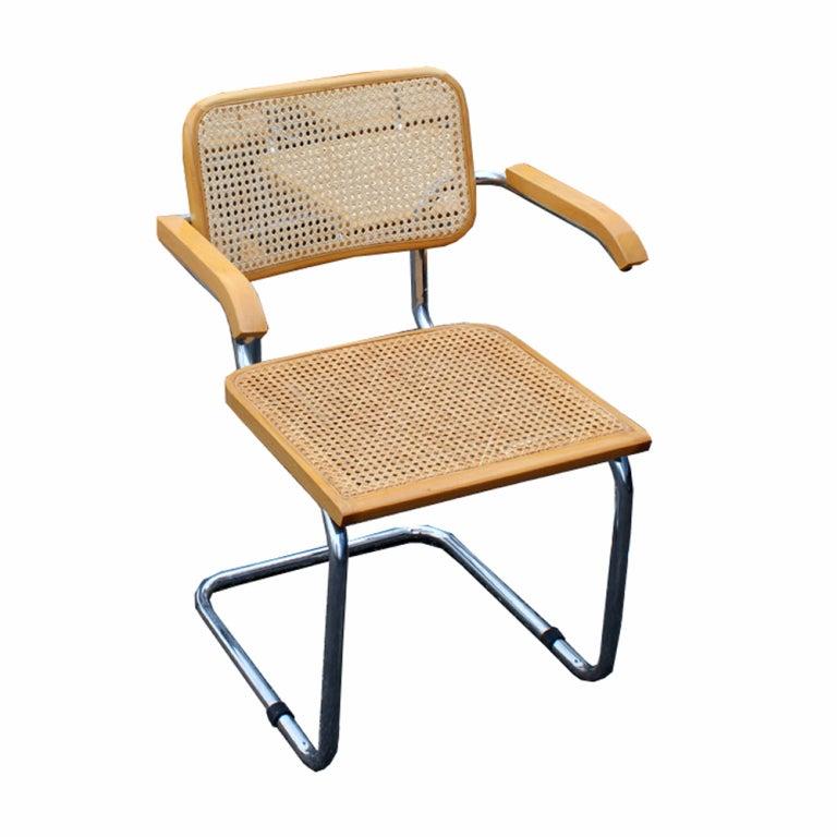Ten Marcel Breuer Cesca Chairs At 1stdibs