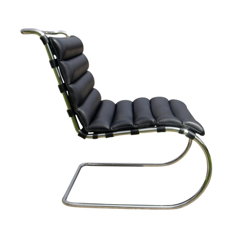 Pair Of Mies Van Der Rohe For Knoll MR Lounge Chairs At 1stdibs