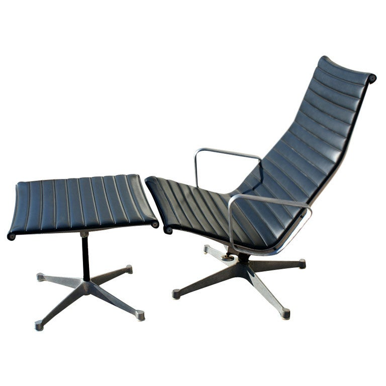 Eames For Herman Miller Lounge Chair And Ottoman At 1stdibs