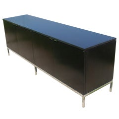 Florence Knoll For Knoll Ebonized Credenza Buffet