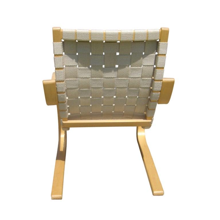 Pair Of Alvar Aalto For Artek Lounge Chairs At 1stdibs
