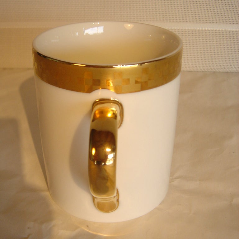 Eight Frank Lloyd Wright For Tiffany Coffee Mugs image 3