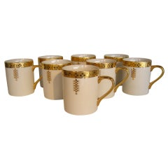 Eight Frank Lloyd Wright For Tiffany Coffee Mugs thumbnail 1
