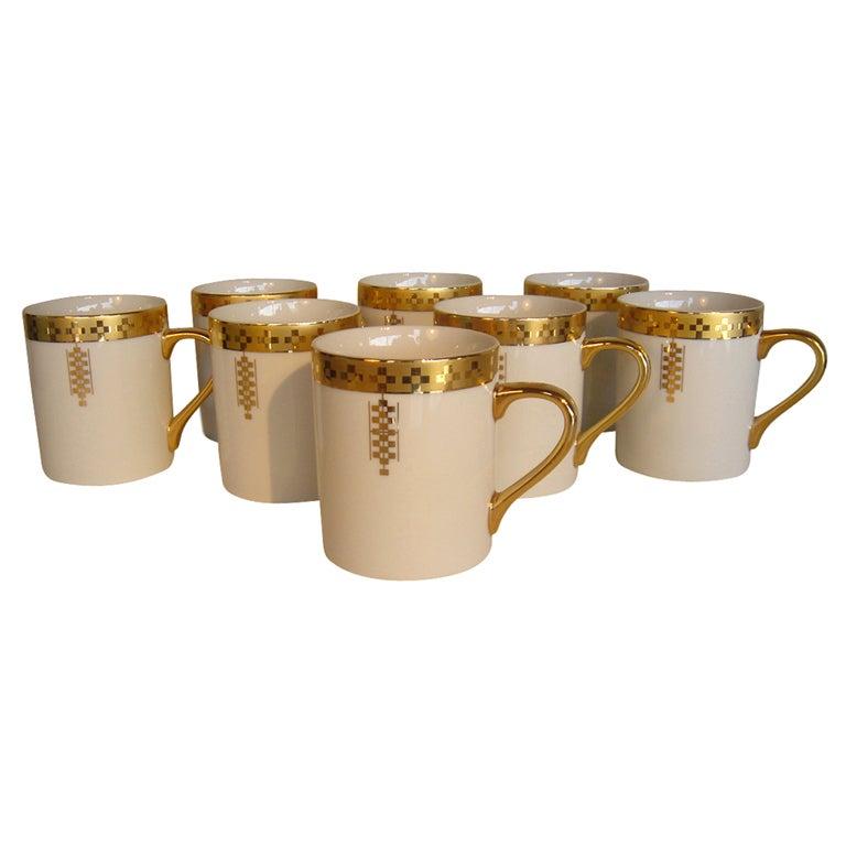 Eight Frank Lloyd Wright For Tiffany Coffee Mugs For Sale  sc 1 st  1stDibs & Eight Frank Lloyd Wright For Tiffany Coffee Mugs at 1stdibs
