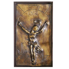Salvador Dali Christ of St. John of the Cross Sculpture