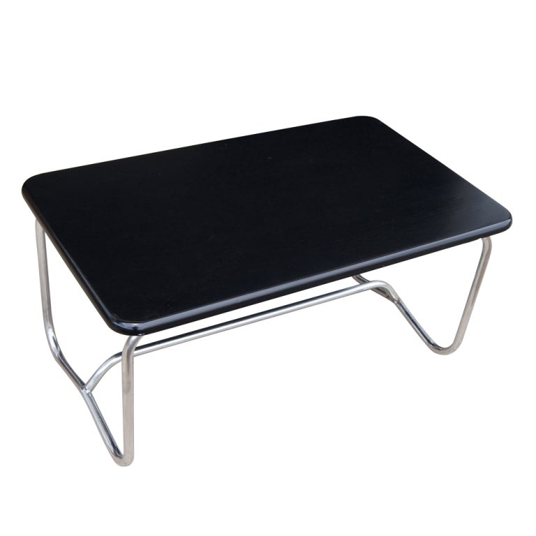Deco Chrome Coffee Table: Alfons Bach Art Deco Cocktail Coffee Table 60% OFF