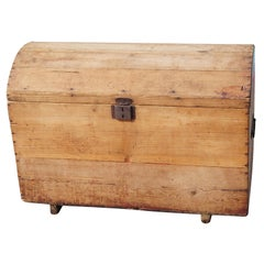 Rustic Wooden Moroccan Chest