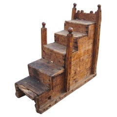 Rustic Antique Moroccan Staircase 40% off
