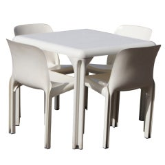 Vico Magistretti For Artemide Dining Set