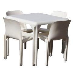 Vico Magistretti For Artemide Dining Set