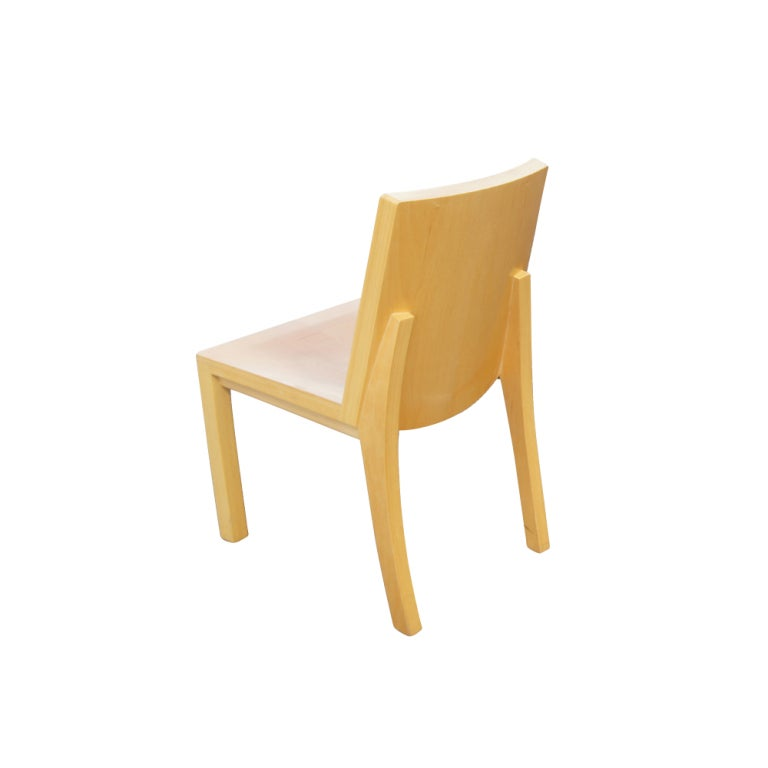 Eight Dakota Jackson Library Dining Side Chairs At 1stdibs