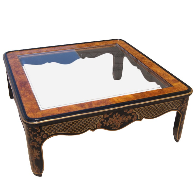 Drexel Asian Motif Coffee Table At 1stdibs