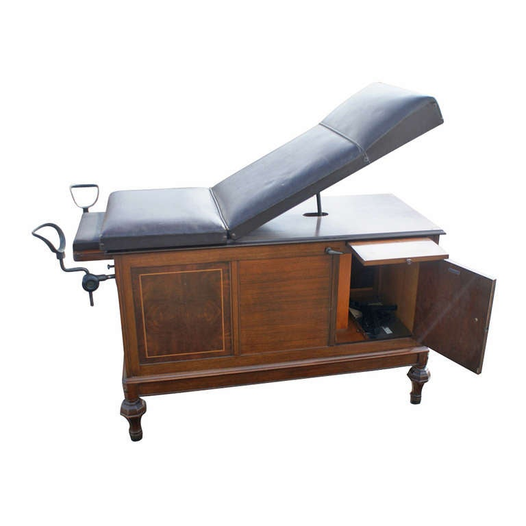 Vintage hamilton medical examination table image 2 for I furniture hamilton