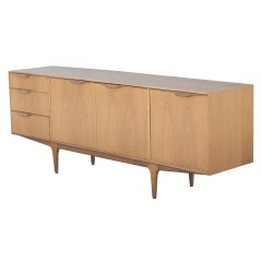 Mid Century McIntosh Walnut Credenza Sideboard Buffet