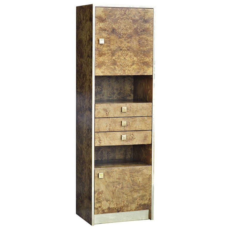 Thomasville Burled Wood Cabinet