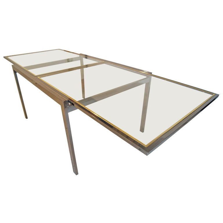 Milo Baughman For Thayer Coggin Extension Dining Table At 1stdibs