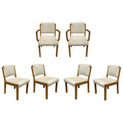 Six Van Keppel And Green For Brown Saltman Dining Chairs   (60%OFF original)