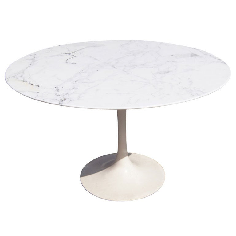White marble top round dining table tore2 net