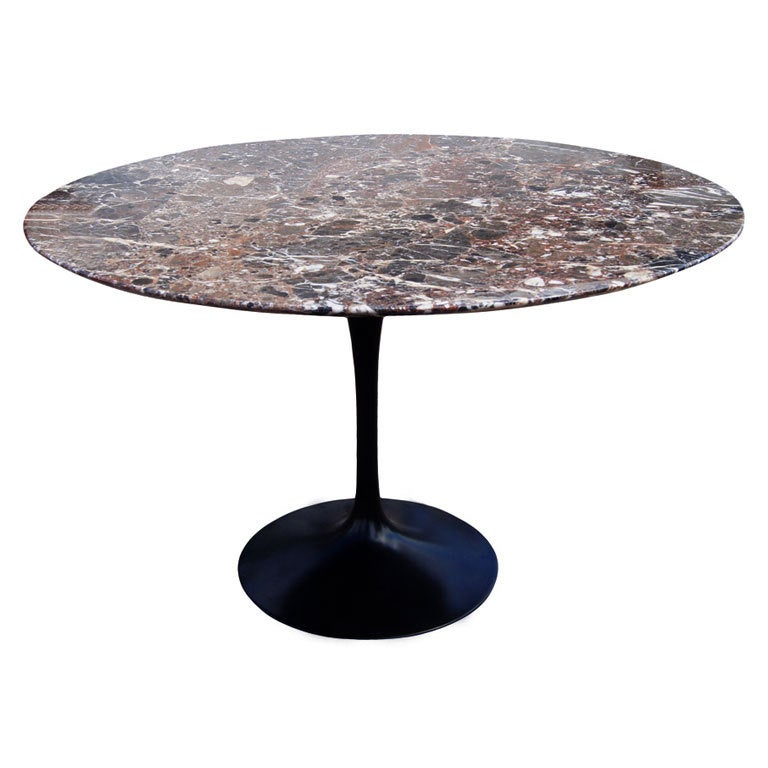 Eero Saarinen For Knoll Round Marble Dining Table : XXX867113500767441 from www.1stdibs.com size 768 x 768 jpeg 51kB
