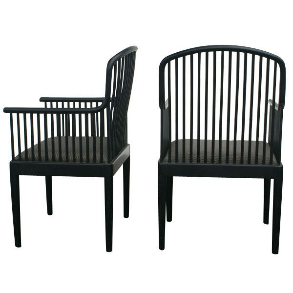 Pair Of Davis Allen For Knoll Exeter Chairs 2