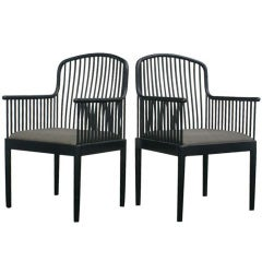 Pair Of Davis Allen For Knoll Exeter Chairs