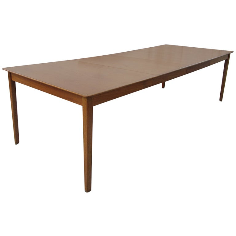 Cado Danish Dining Table with Two Leaves For Sale
