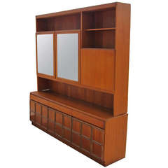 Buffet with Glass Display Cabinet