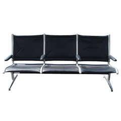 Eames For Herman Miller Three Seat Tandem Seating