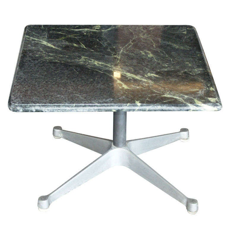Eames Marble Coffee Table: Eames For Herman Miller Green Marble Coffee Table At 1stdibs