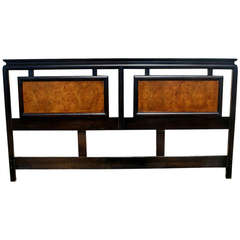 Century Chin Hua An Queen Asian Hollywood Regency Headboard