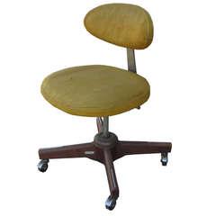 Jens Risom Swivel Chair