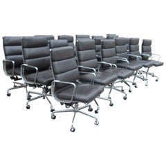 Herman Miller Eames Executive Soft Pad Chair with Five Star Base