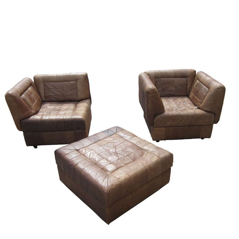 Percival Lafer Modular Sectional Leather Sofa At 1stdibs