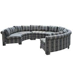 Vintage Milo Baughman Circular Sectional Sofa