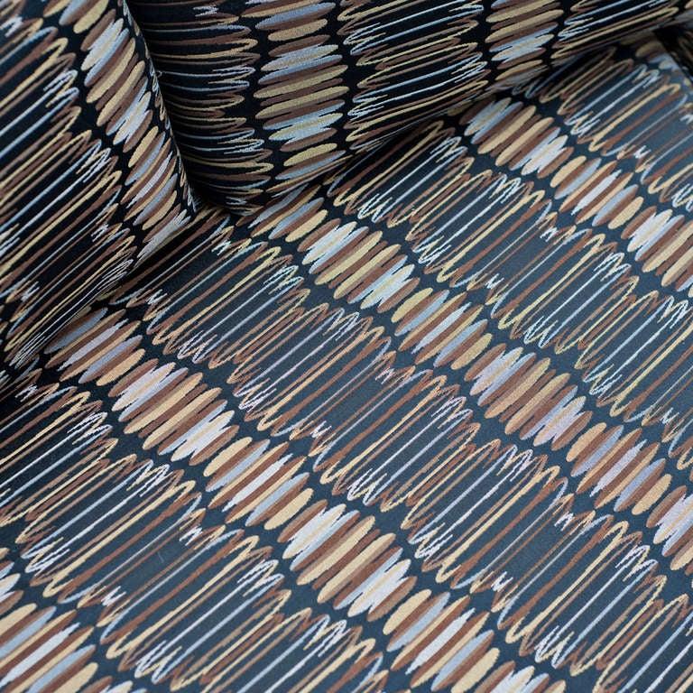 American Vintage Milo Baughman Circular Sectional Sofa For Sale