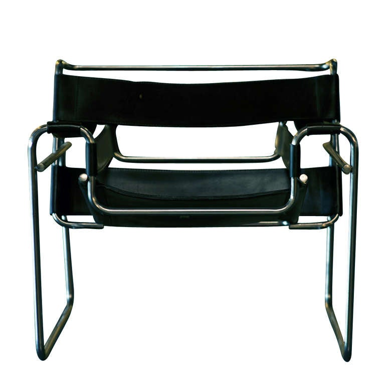 Vintage Marcel Breuer For Knoll Wassily Chair At 1stdibs