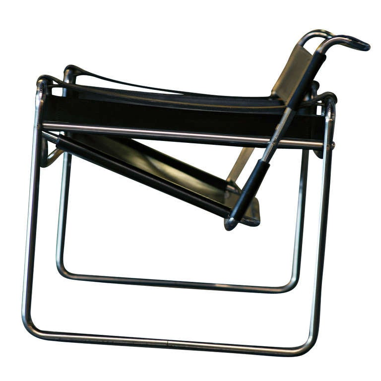 vintage marcel breuer for knoll wassily chair at 1stdibs. Black Bedroom Furniture Sets. Home Design Ideas