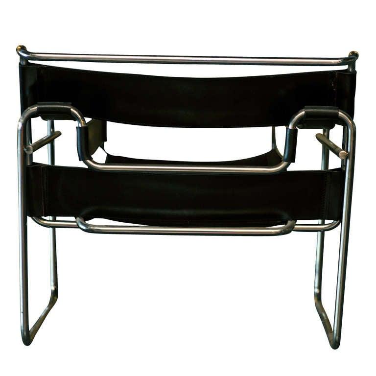 vintage marcel breuer for knoll wassily chair at 1stdibs. Black Bedroom Furniture Sets. Home Design Ideas