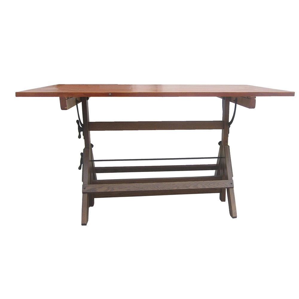 60 Vintage Hamilton Drafting Table At 1stdibs