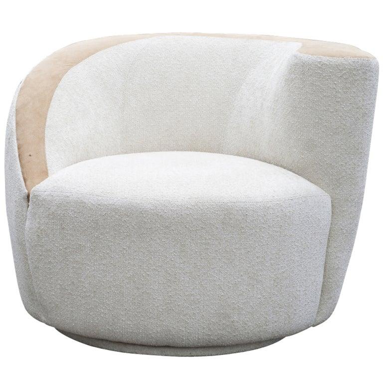Vladimir Kagan Nautilus Lounge Swivel Chair 1
