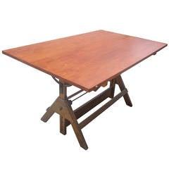 "60"" Vintage Hamilton Drafting Table 56% OFF original of $5900"