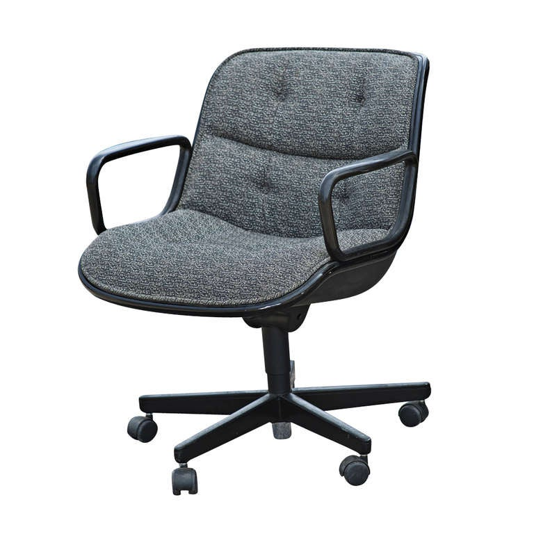 Five Charles Pollock For Knoll Executive Swivel Chairs at 1stdibs