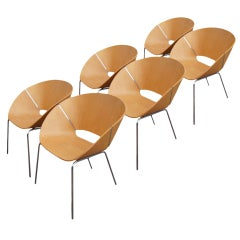1 Wolfgang Mezger for Davis Furniture  Lipse Side Chair