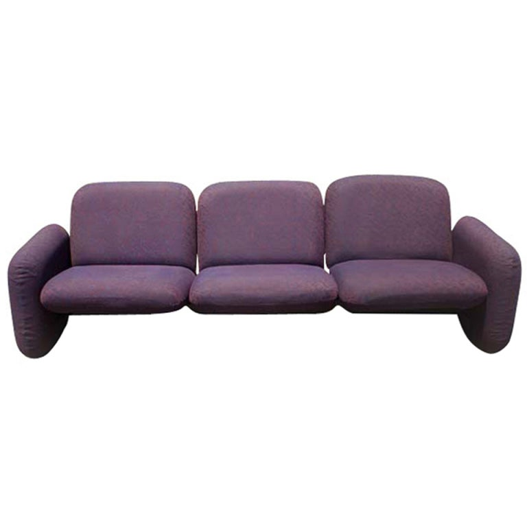 Ray Wilkes for Herman Miller Modular Chiclet Sofa at 1stdibs