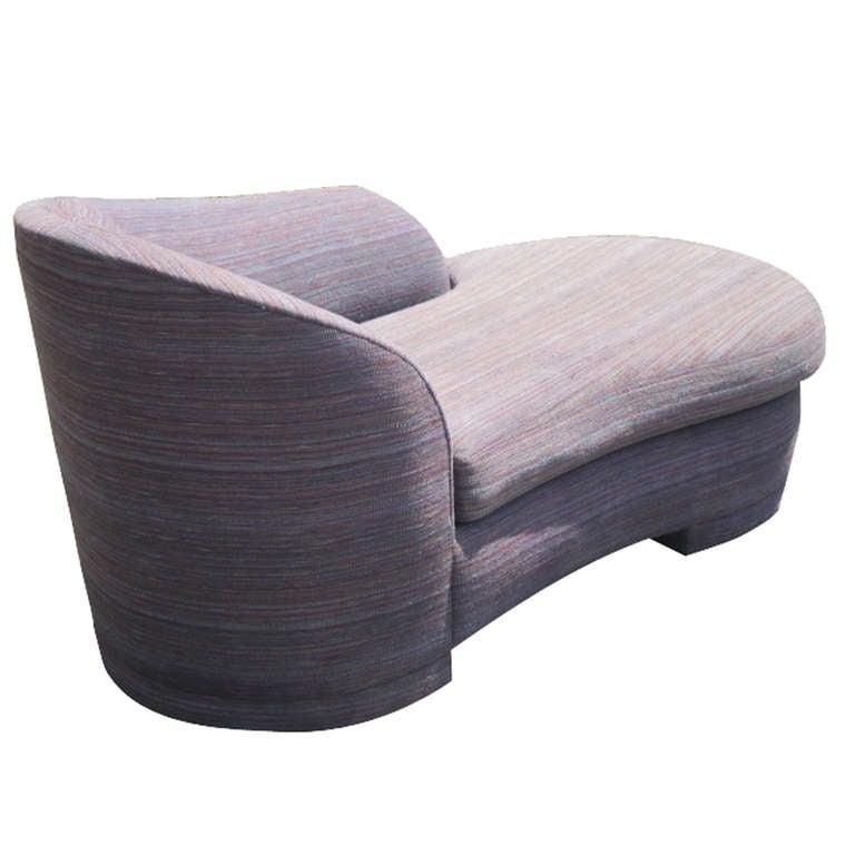 Vladimir Kagan for Weiman Chaise Longue Sofa  image 4