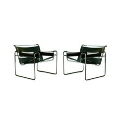 Pair Marcel Breuer for Knoll Wassily Chairs