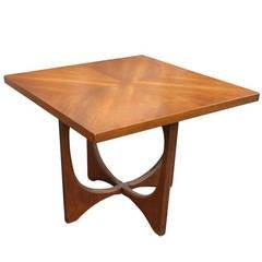 Vintage Mid-Century Broyhill Brasilia Side Table