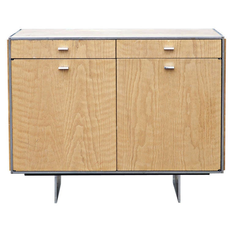 Davis Allen For GF Oak Credenza For Sale at 1stdibs