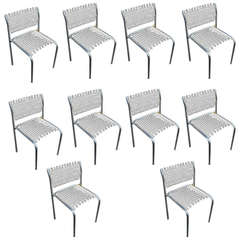 David Rowland for Thonet Sof-Tek Side Stacking Chairs